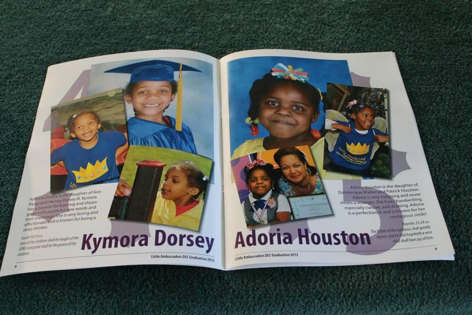Kymroa Dorsey and Adoria Houston